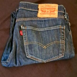 Mens Levi's Jeans, W33 L32, Blue